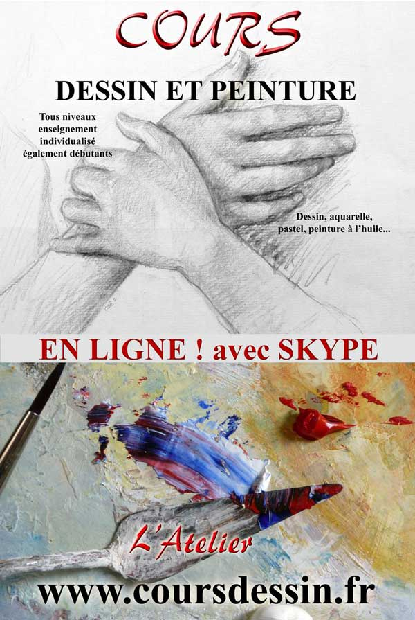 On line drawing course
